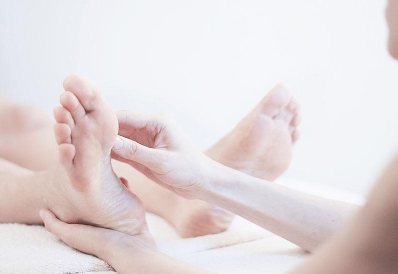 massaggiatrice riflessologia del piede