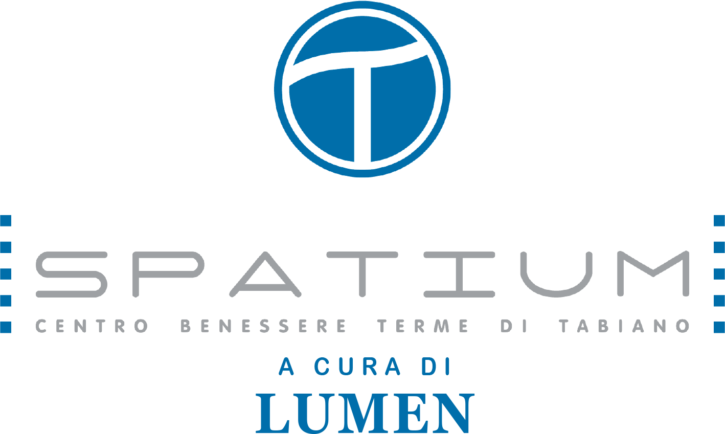 Logo tspatium lumen alle terme di tabiano